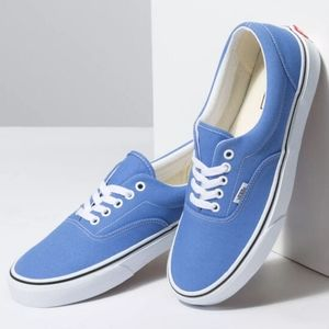 Vans Era Light Blue Low Top Mens Casual Shoes
